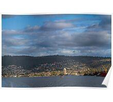 Hobart from the Derwent River, Tasmania #2 Poster
