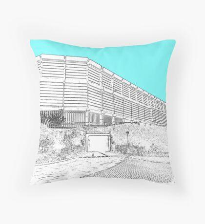 moore street Sheffield  Throw Pillow