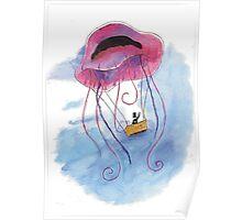 Gone Jellyfishin' Poster