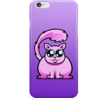 Pink Cat iPhone Case/Skin