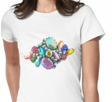 Bejewelled and Fabulous! Womens Fitted T-Shirt