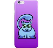 Blue Cat iPhone Case/Skin