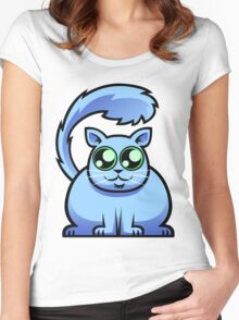 Blue Cat Women's Fitted Scoop T-Shirt