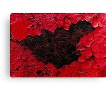 Red Scab #1 Canvas Print