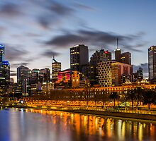 Yarra Lights by Keith Irving