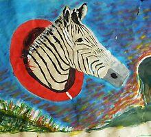 Donkeys have fun by John Rigg