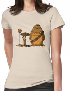 My Neighbour Chewie II Womens Fitted T-Shirt
