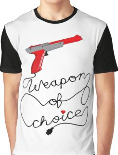 Weapon of Choice (2014 Revamped Version) Graphic T-Shirt
