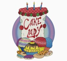 Cake lady Baby Tee