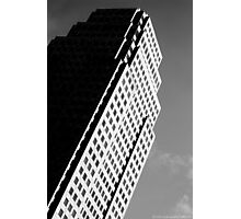 Leaning Building Photographic Print