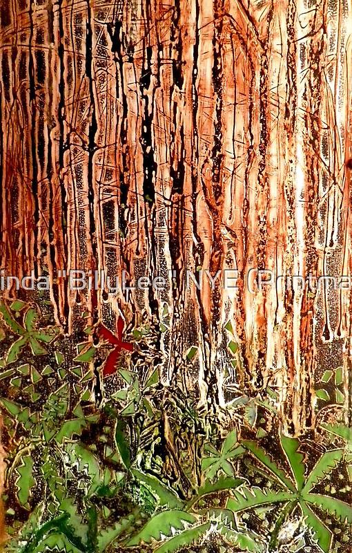 "Rain Forest Dusk by Belinda ""BillyLee"" NYE (Printmaker)"