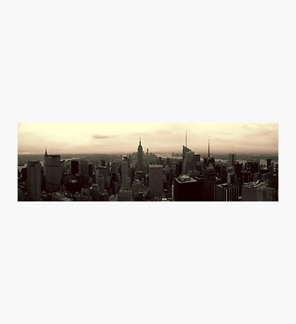 Manhattan Morning Photographic Print