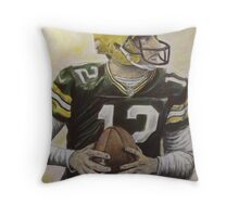 Aaron it out Throw Pillow