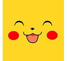 Pikachu Squ'ed Photographic Print