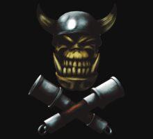 Ork Skull and Stikkbombs T-Shirt