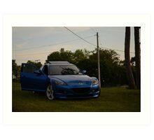 Mazda RX-8 Art Print