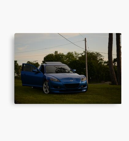 Mazda RX-8 Canvas Print