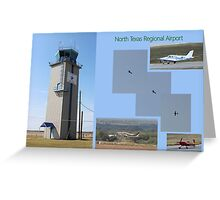 North Texas Regional Airport Greeting Card