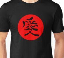 Japanese Kanji for Love Unisex T-Shirt