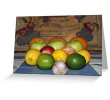 Fruit Math Greeting Card