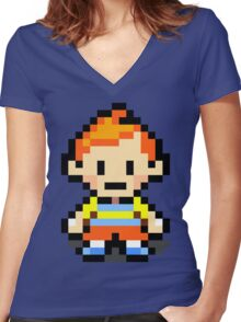 Claus Women's Fitted V-Neck T-Shirt