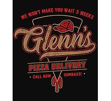 Glenn's Pizza Photographic Print