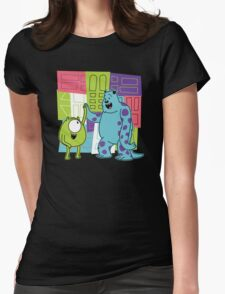 Monster Time Womens Fitted T-Shirt