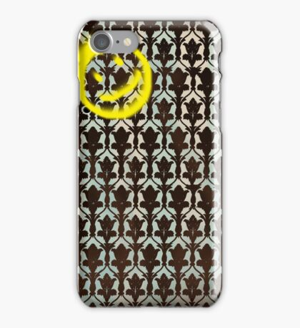 Smile, Sherlock. iPhone Case/Skin