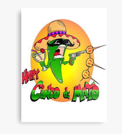 Happy Cinco de Mayo Metal Print