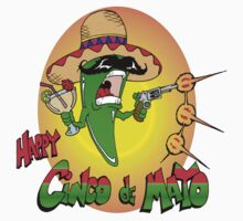 Happy Cinco de Mayo Kids Tee