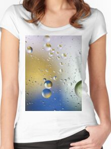 BUBBLE 7 Women's Fitted Scoop T-Shirt