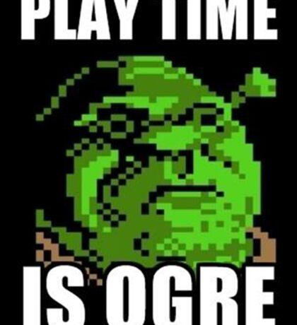 Shrek - Playtime is ogre Sticker