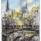 Paris 8 in colour by Tatiana Ivchenkova