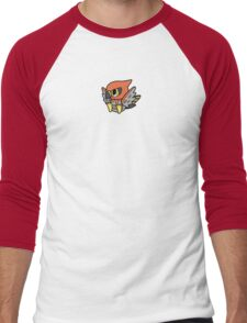 Talonflame Pokedoll Art Men's Baseball ¾ T-Shirt
