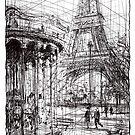 Paris 9 by Tatiana Ivchenkova