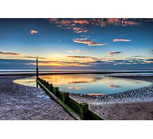 Sunset Reflections Photographic Print