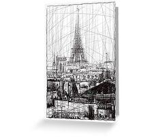 Paris 10 Greeting Card