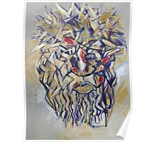 Christ Abstract Poster