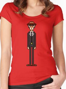 Leder Women's Fitted Scoop T-Shirt