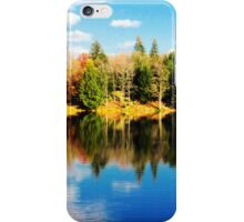 Parker Dam - autumn reflections (2012) iPhone Case/Skin