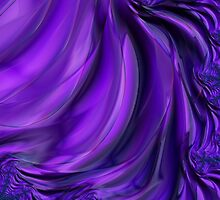 Purple Drapes by Ann Garrett