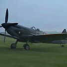 Spitfire - painting effect photo by Peter Barrett