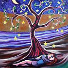 'LOVERS BENEATH THE DREAMING TREE'  by Jerry Kirk