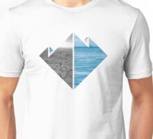 Nature Lovers - Desert and Ice Unisex T-Shirt