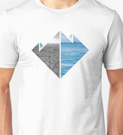 Nature Lovers - Desert and Ice Unisex T-Shirt