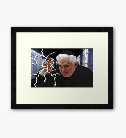 Palpatine Pope Framed Print