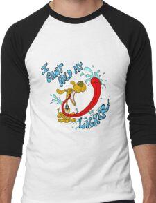 Can't Hold My Licker Men's Baseball ¾ T-Shirt