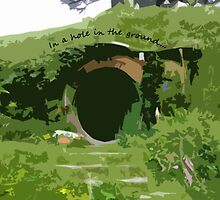 In a hole in the ground... by aforceofnature