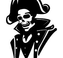 Captain Pirate Skull  by Gravityx9