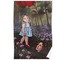 Red Ballons  Poster